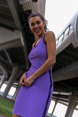 Abibas Dress Violet