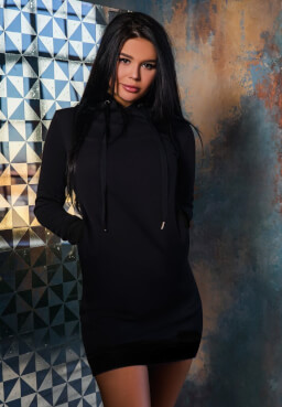 BonaGonna Dress Total Black