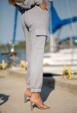 Jogger it Grey melange